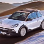 Серийный Opel Adam Rocks 2015 в Россиии